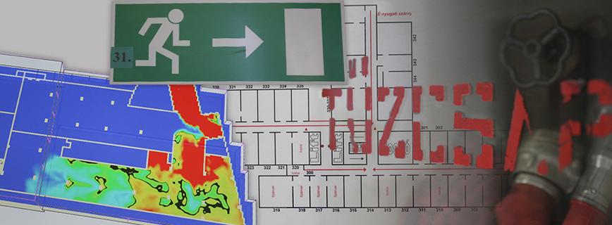 Tűzvédelmi szakvizsga aloldal fejlécképe