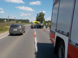 Két személygépkocsi ütközött a 4-es számú főúton