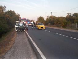 Közúti baleset Püspökladány közelében